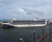 Caribbean Princess in Port Everglades