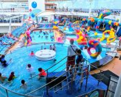 Kids splash pad on Royal Caribbean Oasis of the Seas (c) 2018 Alyce Meserve