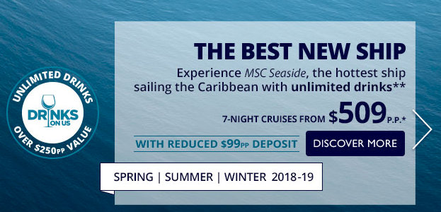 MSC Sale Seaside
