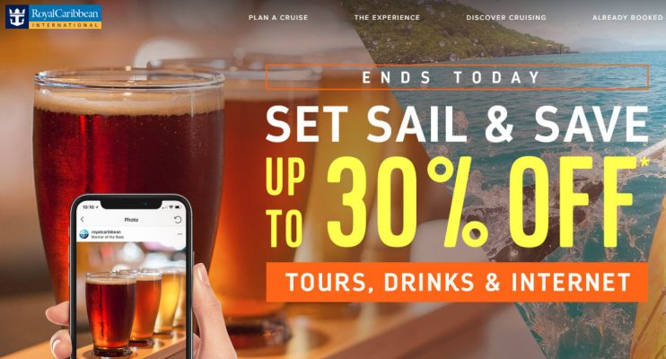 Royal Caribbean Tours Drinks Internet Sale