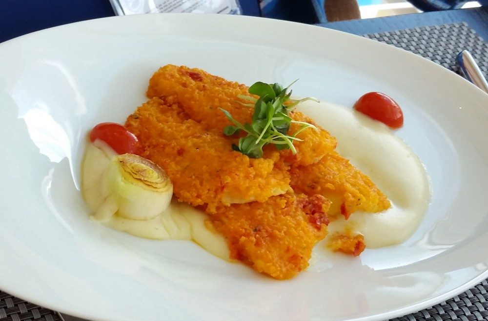 Fried Fish on Harmony of the Seas (c) 2017 Alyce Meserve