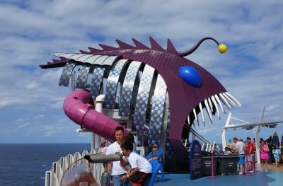 Harmony of the Seas | Entrance to Abyss Slide (c) 2017 Alyce Meserve