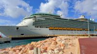 Royal Caribbean Navigator of the Seas cruise ship in Curacao (c) 2018 Alyce Meserve