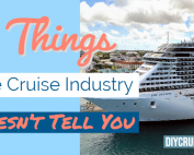 5 Things Cruise Industry Doesn't Tell You - Blog
