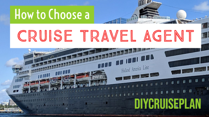 How to choose a cruise travel agent and image of holland america ship